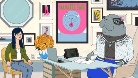 Amanda Hannity, BoJack Horseman, Netflix, The Tornante Company, Boxer vs. Raptor, ShadowMachine, Debmar-Mercury, Christine Baranski