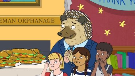 Hedgehog, BoJack Horseman, Netflix, The Tornante Company, Boxer vs. Raptor, ShadowMachine, Debmar-Mercury, Ricky Gervais
