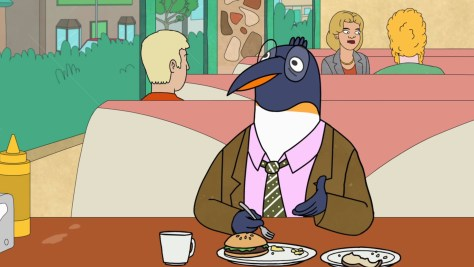 Pinky Penguin, BoJack Horseman, Netflix, The Tornante Company, Boxer vs. Raptor, ShadowMachine, Debmar-Mercury, Patton Oswalt