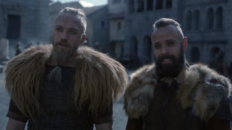 Sigefried and Erik, The Last Kingdom, BBC Two, BBC America, Netflix, Carnival Film and Television, Björn Bengtsson, Christian Hillborg