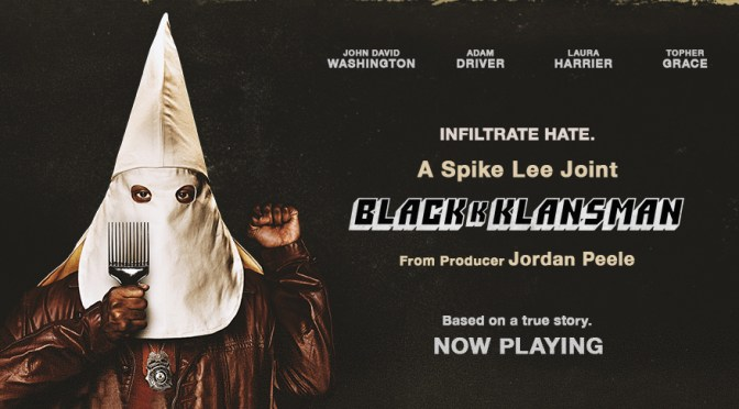 BlacKkKlansman, Focus Features,Blumhouse Productions, Monkeypaw Productions, QC Entertainment, 40 Acres and a Mule Filmworks, Legendary Entertainment, Perfect World Pictures