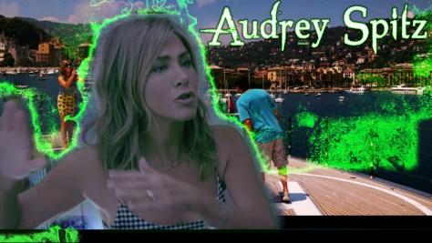 Audrey Spitz, Murder Mystery, Netflix, Happy Madison Productions, Endgame Entertainment, Vinson Films, Denver & Delilah Films, Tower Hill Entertainment, Mythology Entertainment, Jennifer Aniston