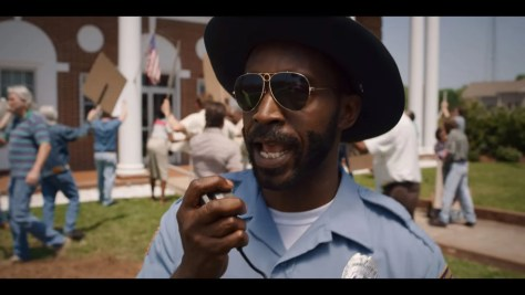 Officer Powell, Stranger Things, Netflix, 21 Laps Entertainment, Monkey Massacre, Rob Morgan