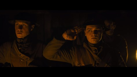Lance Corporal Blake, 1917, Universal Pictures, DreamWorks Pictures, Reliance Entertainment, New Republic Pictures, Neal Street Productions, Mogambo, Amblin Partners, British Film Commission, Screen Scotland, Dean-Charles Chapman