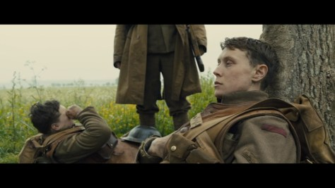 Lance Corporal Schofield, 1917, Universal Pictures, DreamWorks Pictures, Reliance Entertainment, New Republic Pictures, Neal Street Productions, Mogambo, Amblin Partners, British Film Commission, Screen Scotland, George MacKay
