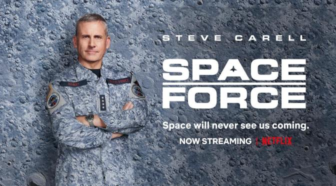 Space Force, Netflix, Deedle-Dee Productions, Film Flam, 3 Arts Entertainment