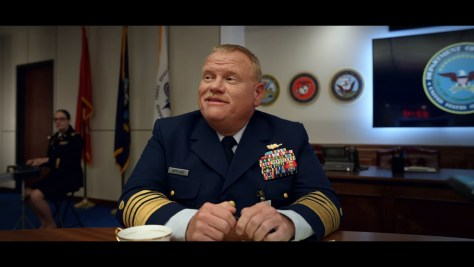 Commandant of the Coast Guard, Space Force, Netflix, Deedle-Dee Productions, Film Flam, 3 Arts Entertainment, Larry Joe Campbell