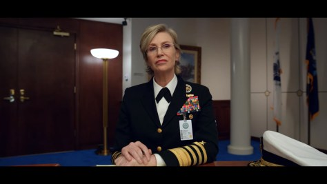 Chief of Naval Operations, Space Force, Netflix, Deedle-Dee Productions, Film Flam, 3 Arts Entertainment, Jane Lynch