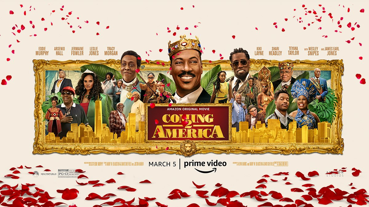 Coming 2 America, Amazon Prime Video, Eddie Murphy Productions, Misher Films, New Republic Pictures, Paramount Pictures
