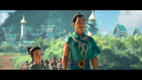 Chief Benja, Raya and the Last Dragon, Disney+, Walt Disney Animation Studios, Walt Disney Pictures, Daniel Dae Kim