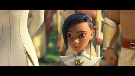 Princess Namaari, Raya and the Last Dragon, Disney+, Walt Disney Animation Studios, Walt Disney Pictures, Gemma Chan