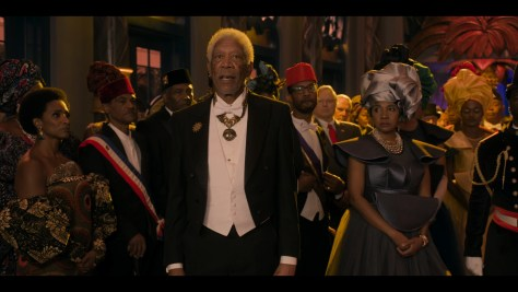 Morgan Freeman, Coming 2 America, Amazon Prime Video, Eddie Murphy Productions, Misher Films, New Republic Pictures, Paramount Pictures