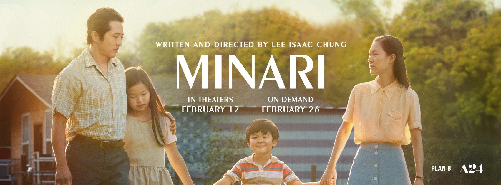 Minari, A24, Plan B Entertainment