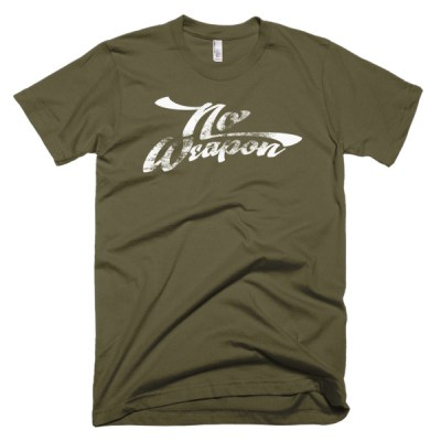 No Weapon Dark T-Shirt