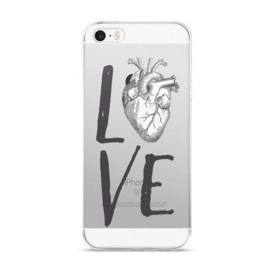 LOVE HEART iPhone 5/5s/Se, 6/6s, 6/6s Plus Case