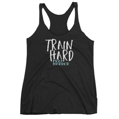 Train Hard Pray Harder Colored Women's tank top