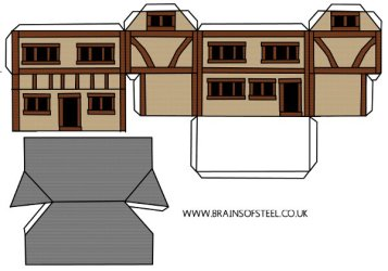 How to Make a Medieval Model House