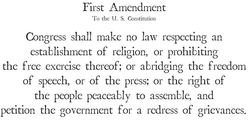 first_amendment-1