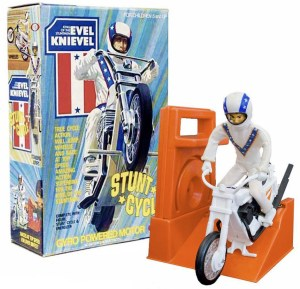 EVEL KNIEVEL STUNT CYCLE 1973 IDEAL