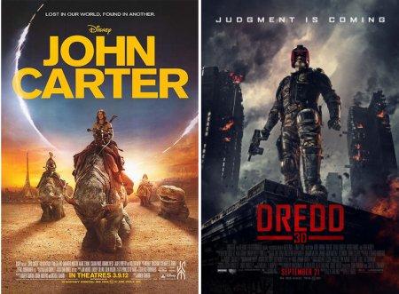 john_carter_dredd_movie_poster