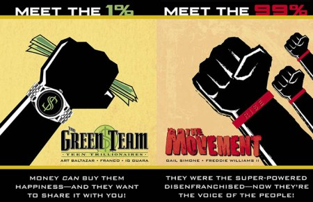 DC The Green Team The movement 99%