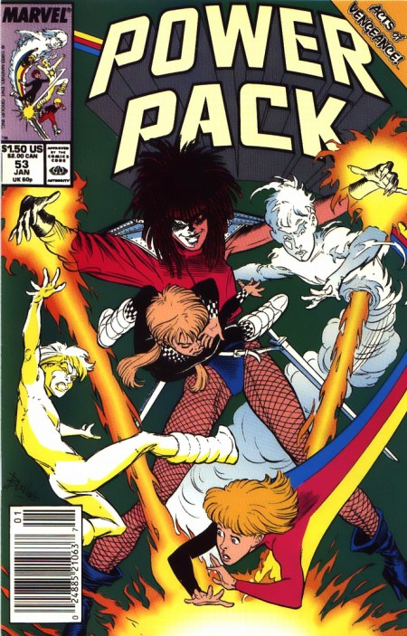 Power Pack 53 Typhoid Mary Doctor Doom