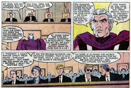 Uncanny X-men 200 magneto court