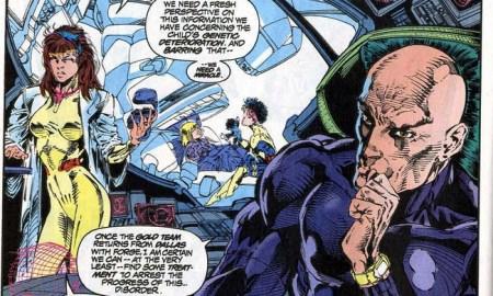 Uncanny X-Men 303 xavier