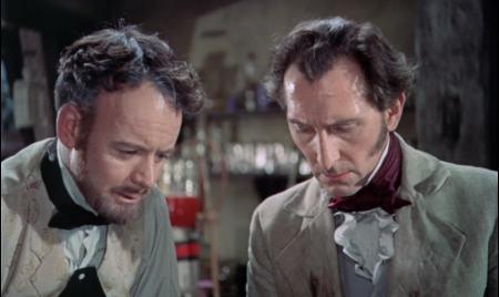 Curse of Frankenstein cushing