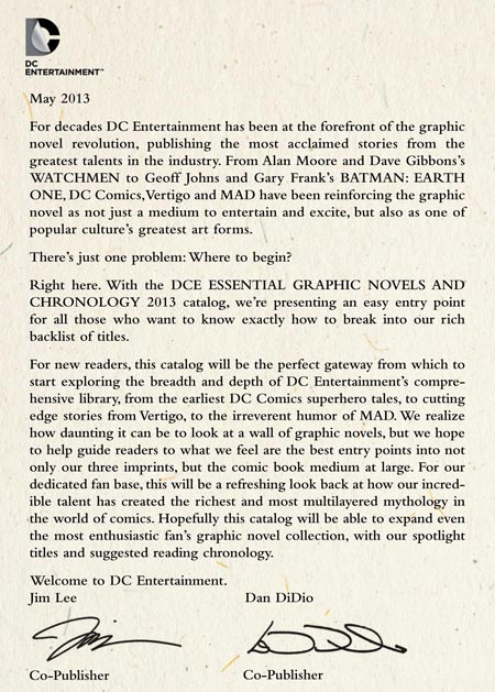 DC_Entertainment_Essential_Graphic_Novels_and_Chronology_carta_didio_lee