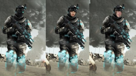 call of duty comparativa hombre mujer male female soldier