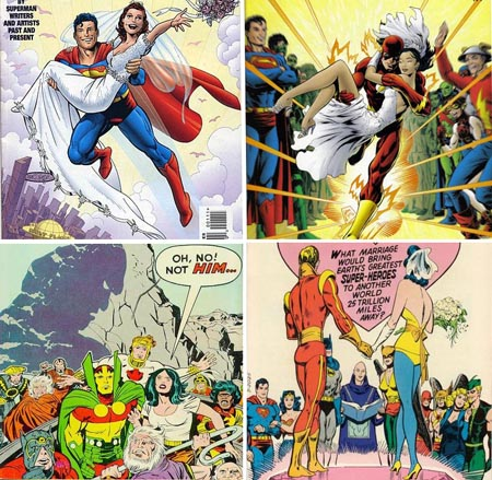 Superman_adam_strange_flash_wally_west_mister_miarcle_big_barda_adam_strange_The_Wedding
