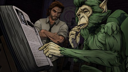 Fables The Wolf Among Us bufkin bigby