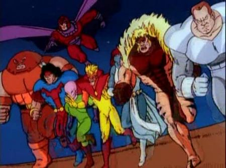 X-men animated 90s