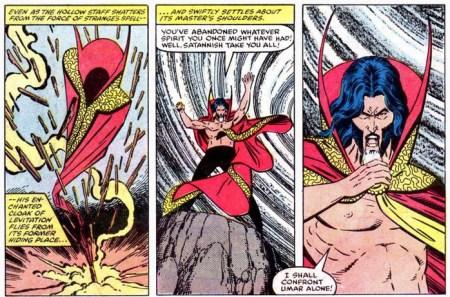 Doctor Strange Dark Dimension enraged