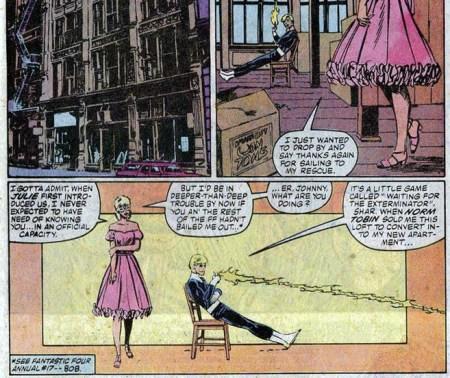 Byrne Human Torch Johnny Storm Fantastic Four