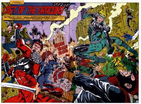 Double Dragon Marvel Comics Brevoort