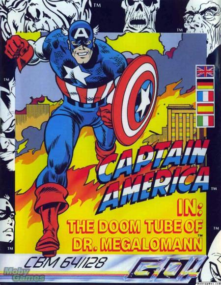 Captain America The Doom Tube of Doctor Megalomann