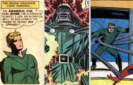 Nemesis Kid Doctor Doom Doctor Octopus