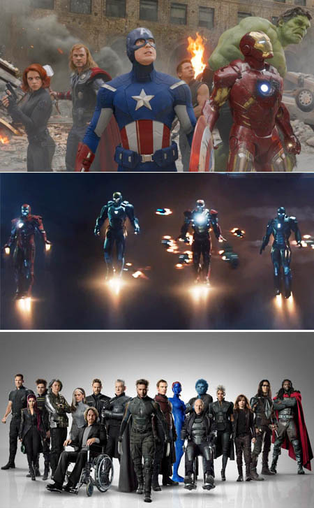 The-Avengers-Marvel-Movie-iron-legion-x-men-days-future-past