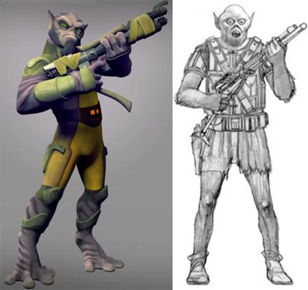 Zeb_star-wars-Rebels-McQuarrie-wookiee-design