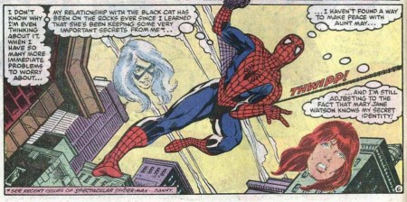 Amazing Spider-Man 260 Mary Jane Black Cat