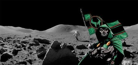 Doctor Doom Muerte Luna Moon Flag Bandera