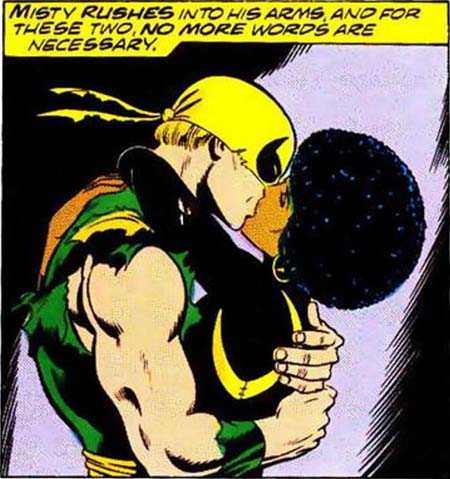 iron-fist-misty-knight-kissing-claremont-byrne-marvel-team-up