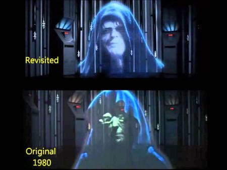 Empire Strikes Back emperor
