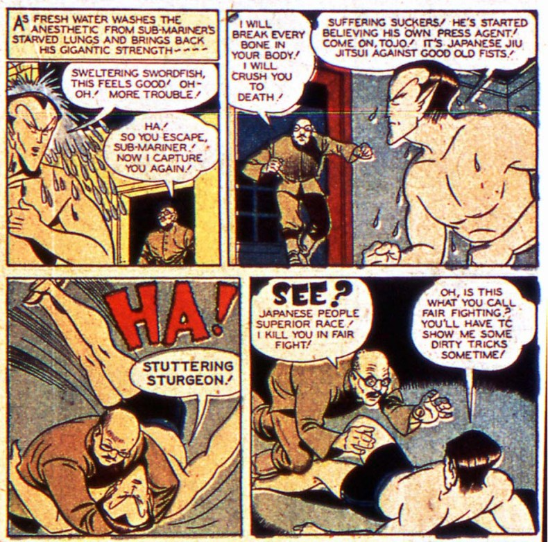 Sub-Mariner war comics