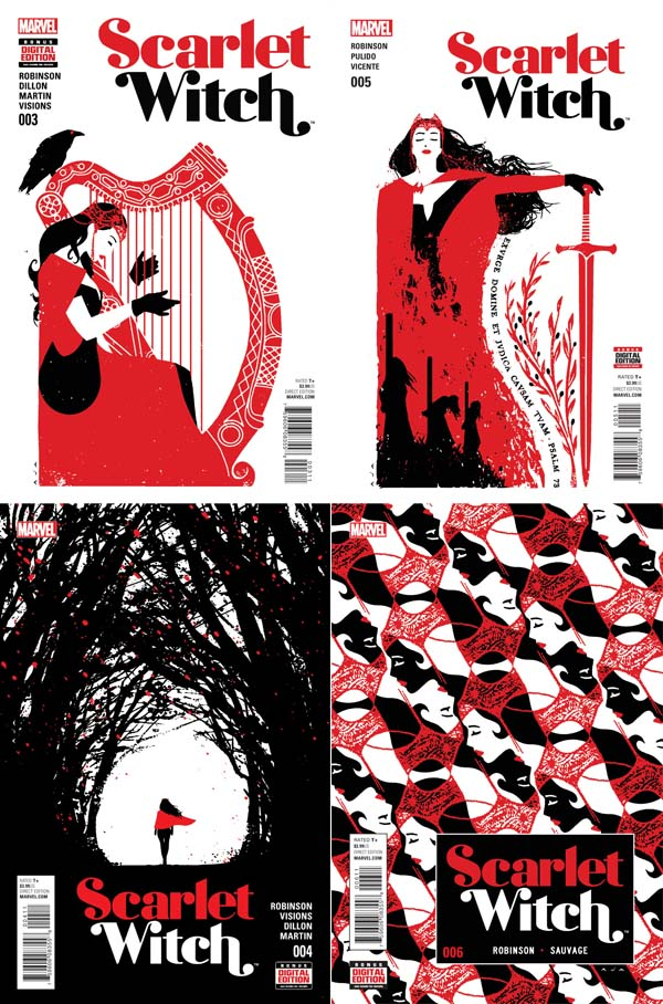 scarlet-witch-bruja-escarlata-marvel-james-robinson-david-aja-covers