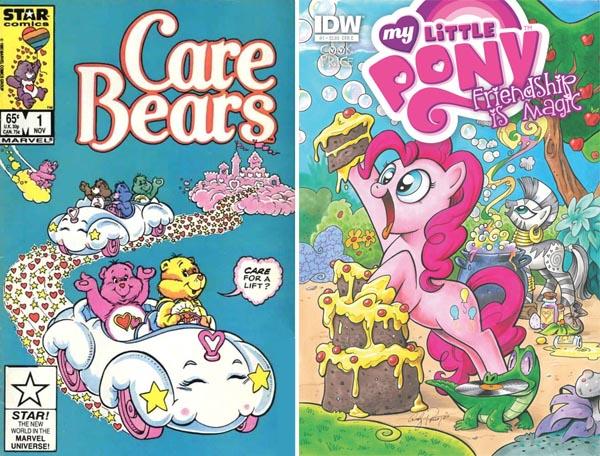 care-bears-little-pony-comics