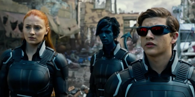 X-Men-Apocalypse Cyclops Jean Grey Nightcrawler