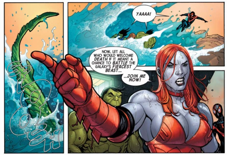 Totally Awesome Hulk 1 Lady Hellbender